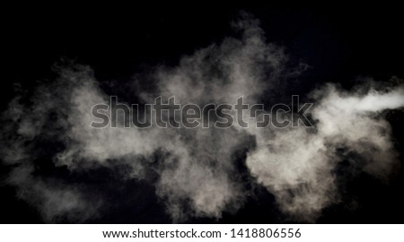 smoke texture isolated on black background  #1418806556