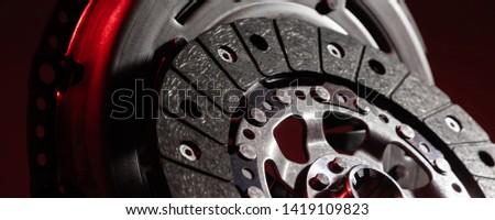 car part close-up clutch disc, luxury car parts #1419109823
