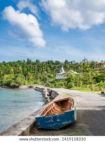 Views around the caribbean island of Dominica West indies #1419118310