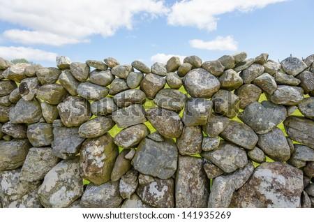 Irish stone wall #141935269