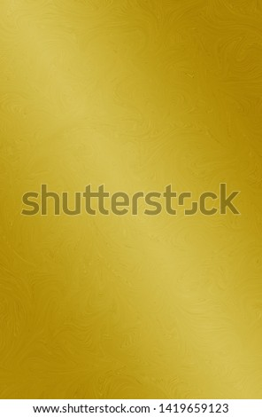 Gold texture steel or yellow metal plate background #1419659123
