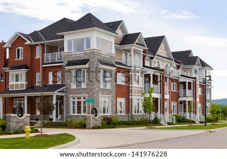 Attractive apartment building #141976228