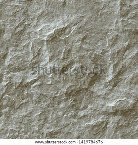 3D Seamless Stone Wall Texture #1419784676