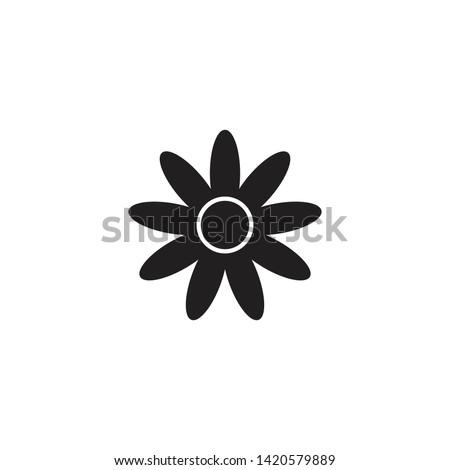 FLOWER ICON DESIGN , VECTOR EPS10 #1420579889