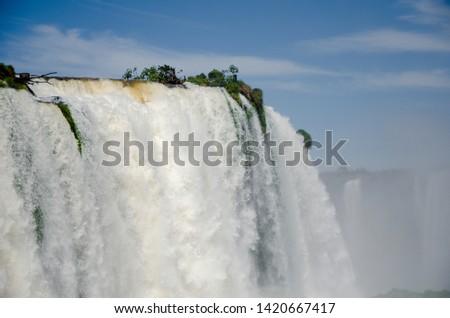 Iguazu waterfall cataratas do iguaçu #1420667417