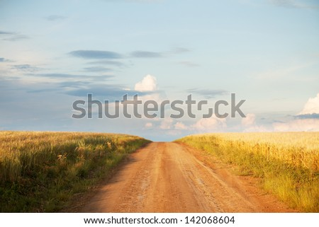 Countryside road #142068604