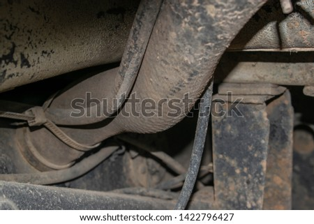 Old engine ,Rusted car ,background #1422796427