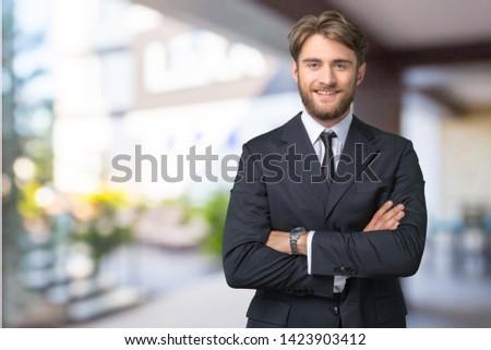 Business man portrait. close up #1423903412