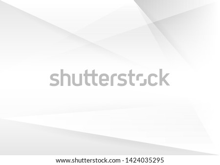 Abstract white and gray gradient background.geometric modern design.vector Illustration. Royalty-Free Stock Photo #1424035295
