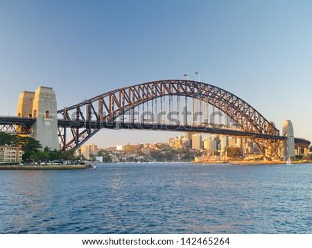 Sydney Harbour Bridge Royalty-Free Stock Photo #142465264