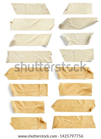 close up of an adhesive tape on white background #1425797756