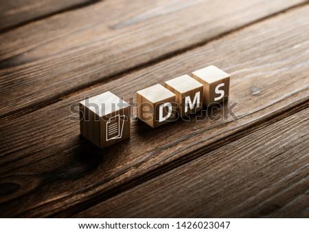 Document Management Data System Business Internet Concept #1426023047