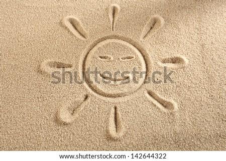 sun with eyes