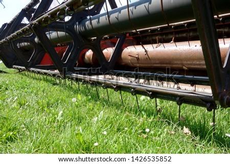 Harvester mechanism for harvesting crops #1426535852