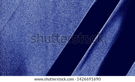 Art Stylized Blue Texture Effect. Beautiful Abstract Decorative Background. #1426691690