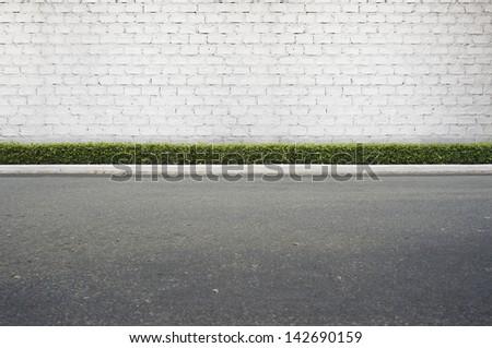 Roadside street view  background #142690159