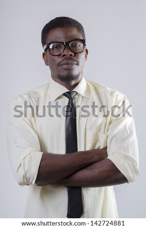 Young successful African American man #142724881