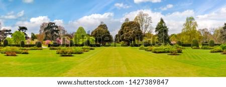 Spring in Kew botanical garden, London, UK #1427389847