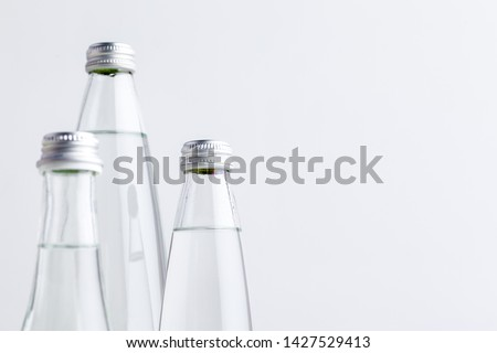 A close up shot of a water bottle #1427529413
