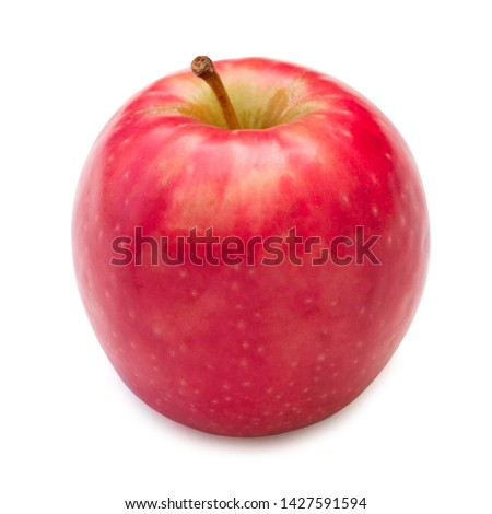 Red apple isolated on white background #1427591594