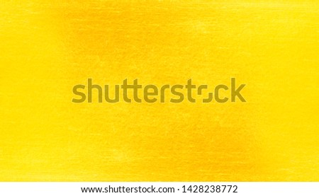 Gold metal brushed background or texture of brushed steel #1428238772