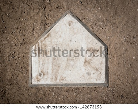 Home plate #142873153