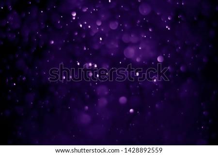 Bokeh purple proton background abstract #1428892559