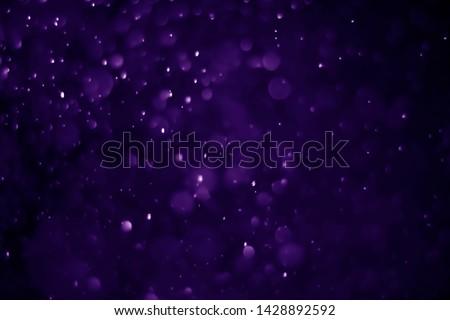 Bokeh purple proton background abstract #1428892592