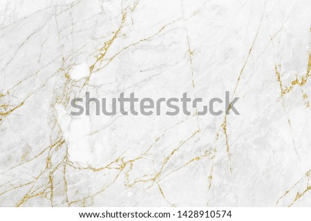 White gold marble texture pattern background with high resolution design for cover book or brochure, poster, wallpaper background or realistic business #1428910574