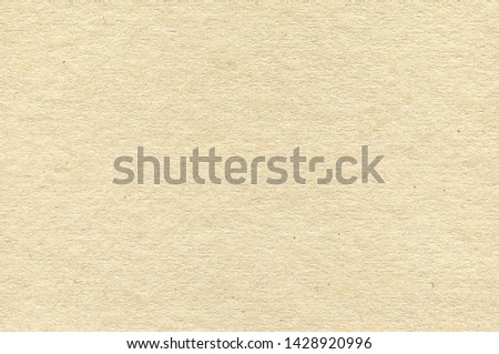 Light Brown Cardboard Texture. Simple Sepia Background #1428920996