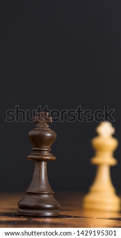 Chess photographed on a chessboard #1429195301