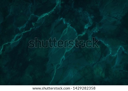 Dark green marble texture background with high resolution, top view of natural tiles stone in luxury and seamless glitter pattern. #1429282358