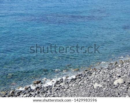 The sea of Hachijojima Island in Japan #1429983596
