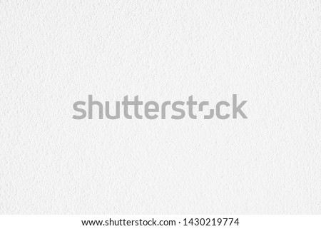 Abstract clean white paper texture, Cement or concrete wall texture background, High resolution, Empty space for text.  #1430219774