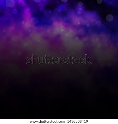 Light Purple vector layout with circles. Modern abstract illustration with colorful circle shapes. Pattern for websites, landing pages. #1430508419