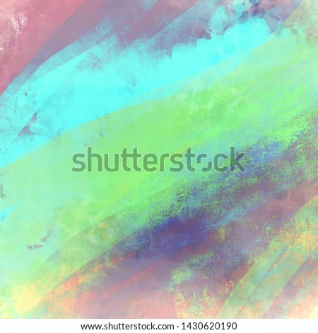 Abstract background texture, colorful hand drawn background for design, web, cards #1430620190