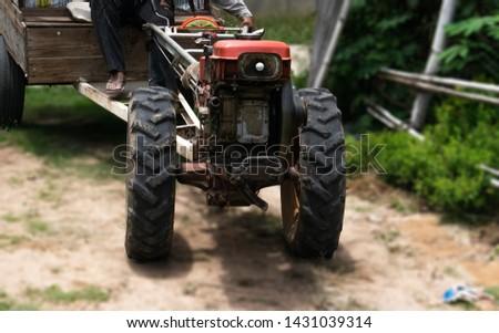 Walking tractor for farmer #1431039314