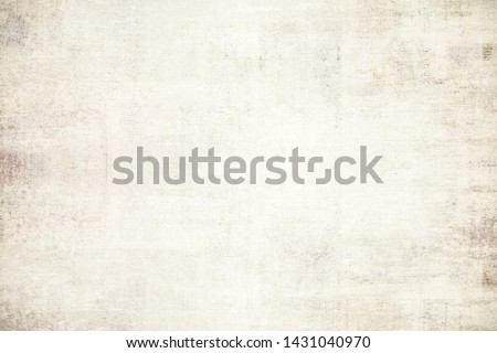 OLD NEWSPAPER BACKGROUND, BLANK SCRATCHED PAPER TEXTURE, GRUNGE TEXTURED PATTERN, SPACE FOR TEXT #1431040970