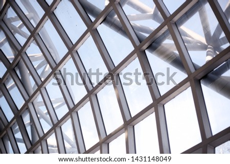 Building with a mirror structure #1431148049