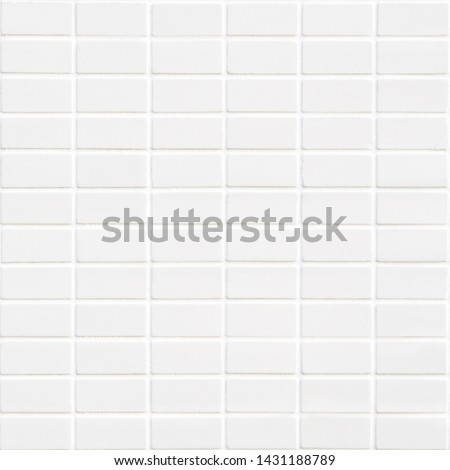 white ceramic tile with many little rectangles in square form #1431188789