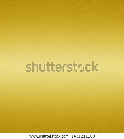 Gold metal or yellow texture brushed steel background #1431211100
