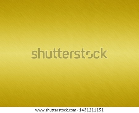 Gold metal or yellow texture brushed steel background #1431211151