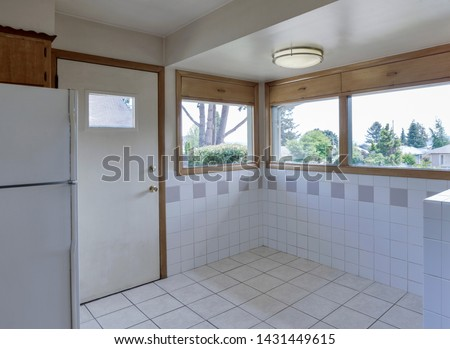 Tacoma, WA / USA - June 20, 2019: Modern kitchen interior #1431449615
