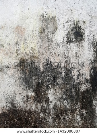 street wall background ,Industrial background, empty grunge urban street with warehouse brick wall - Image #1432080887