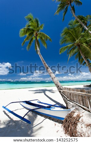 Tropical beach view, Philippines, Boracay #143252575