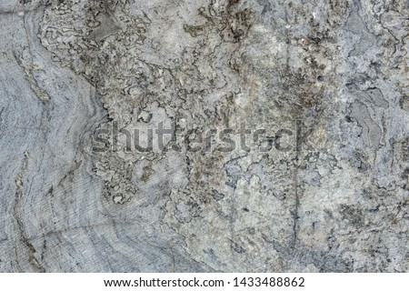 Gray surface of marble stone with striped streaks. #1433488862