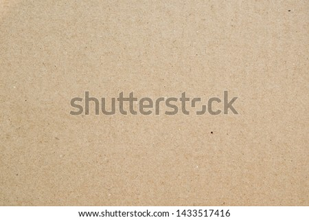 Brown paper texture background or cardboard surface from a paper box for packing. and for the designs decoration and nature background concept #1433517416