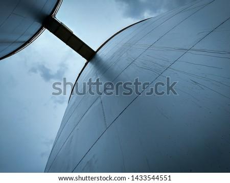 Water tank it large. Tank store crude oil in the industry. Tank water it #1433544551