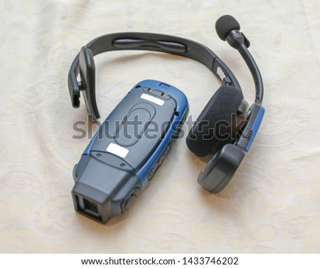 Voice Collect Wireless Headset Device Set For Distribution Warehouse #1433746202