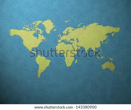 world map #143380900